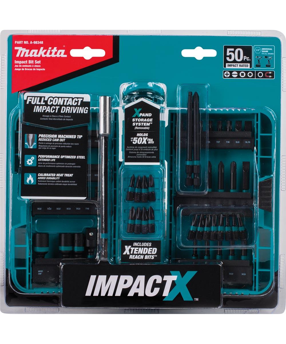 Makita ImpactX 50-Piece Driver Bit Set