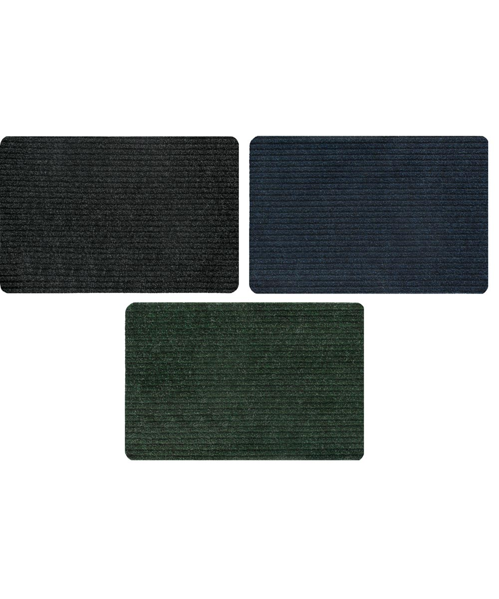 Apache Mills 20 in. x 30 in. Simplicity Tri Rib Mat, Assorted Colors