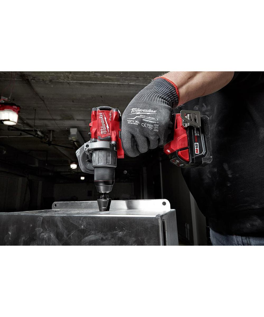 Milwaukee M18 FUEL 1/2 in. Hammer Drill / Driver, Tool Only (No Battery or Charger)