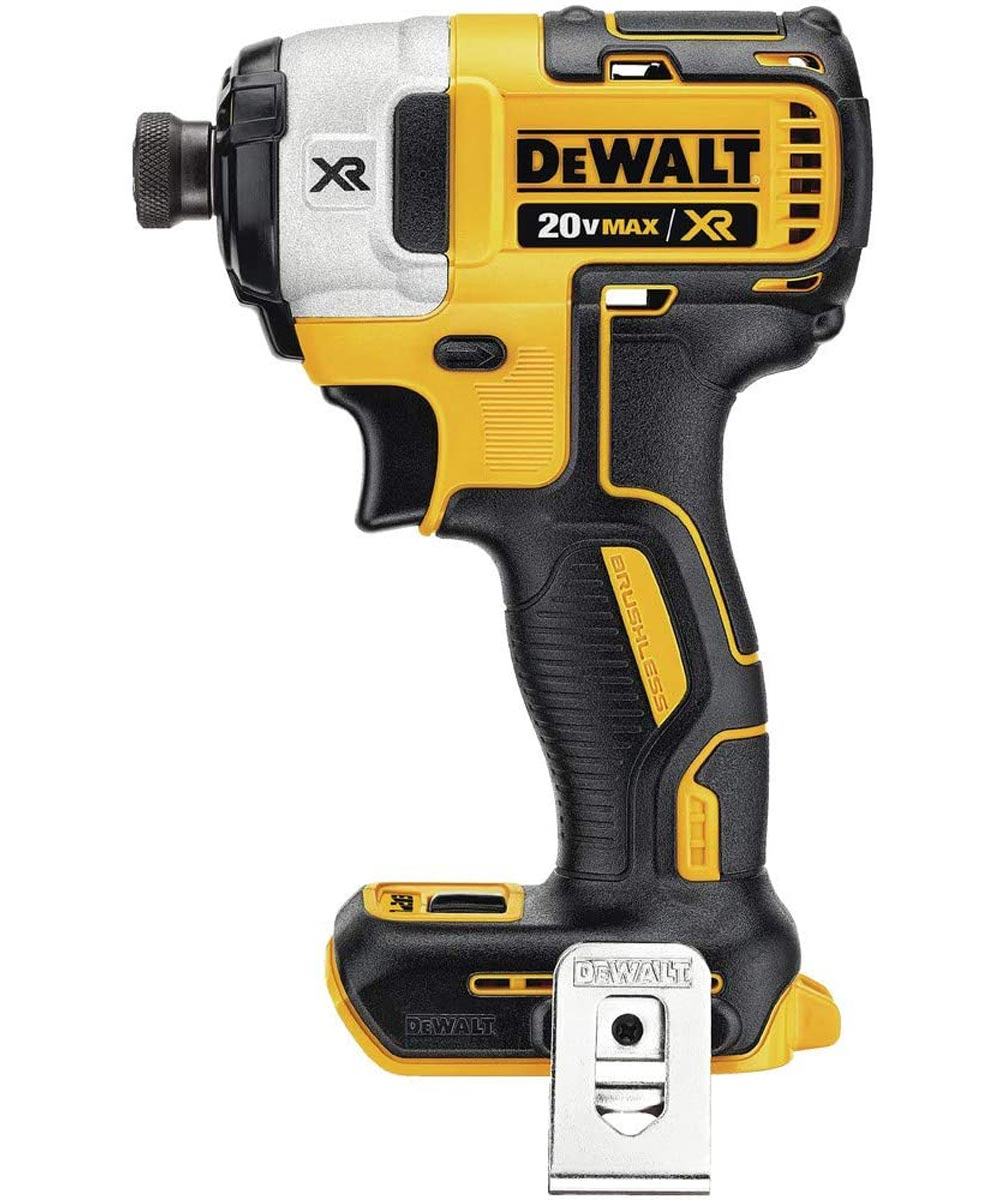 DEWALT 20V MAX* XR Brushless Cordless Compact Drill / Driver & Impact Driver Combo Kit with Charger & 2 Batteries