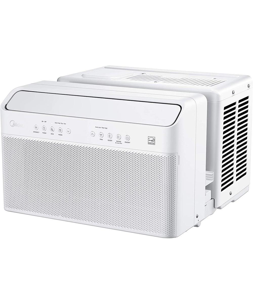Perfect Aire 8,000 BTU U-Shaped Smart Wifi Window Air Conditioner