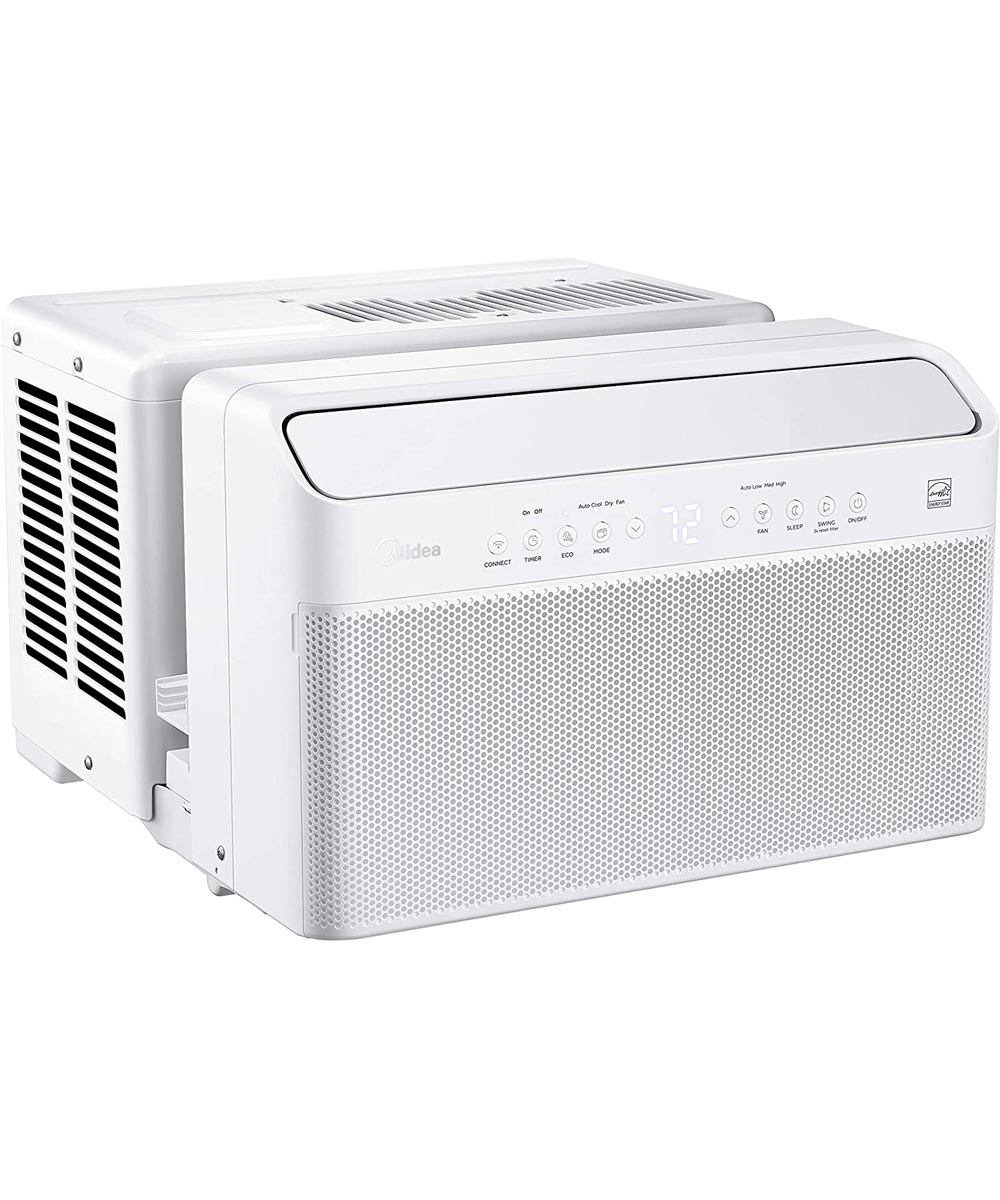 Perfect Aire 10,000 BTU U-Shaped Smart Wifi Window Air Conditioner