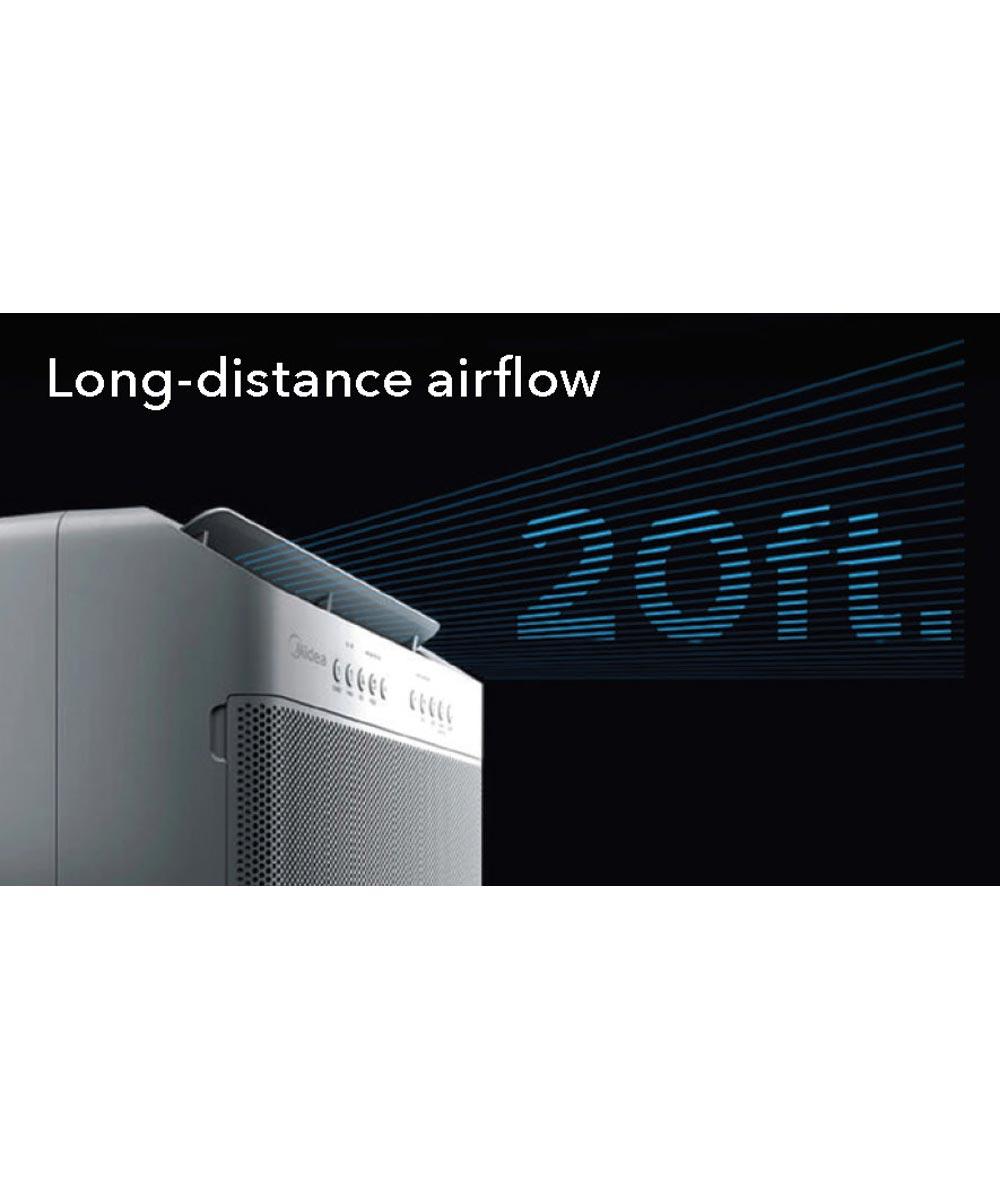 Perfect Aire 12,000 BTU U-Shaped Smart Wifi Window Air Conditioner