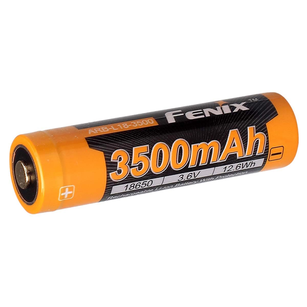 Fenix 18650 Li-ion 3500mAh Rechargeable Battery with Built-In USB Charging Port