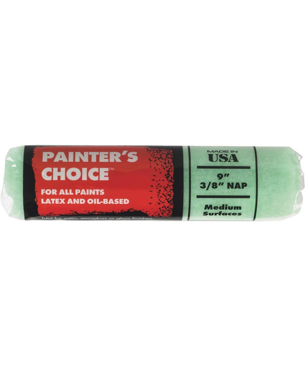 Wooster Brush Painter's Choice 9 in. x 3/8 in. Semi-Smooth Surface Paint Roller Cover