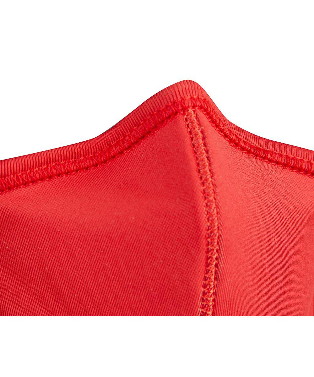 Milwaukee 2-Layer Face Mask, One-Size-Fits-Most, Red, 3 Pack
