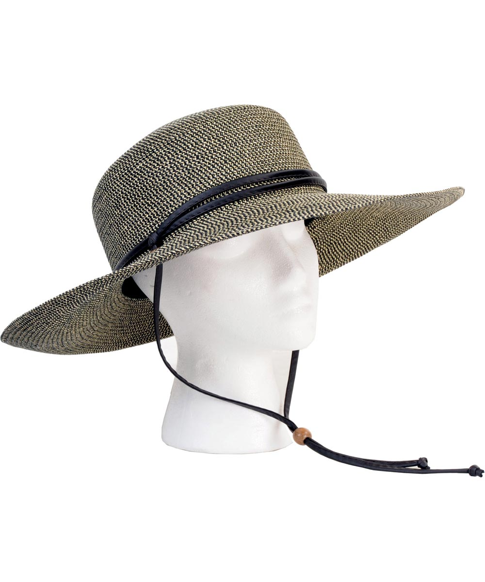 Sage Wide Braided Hat