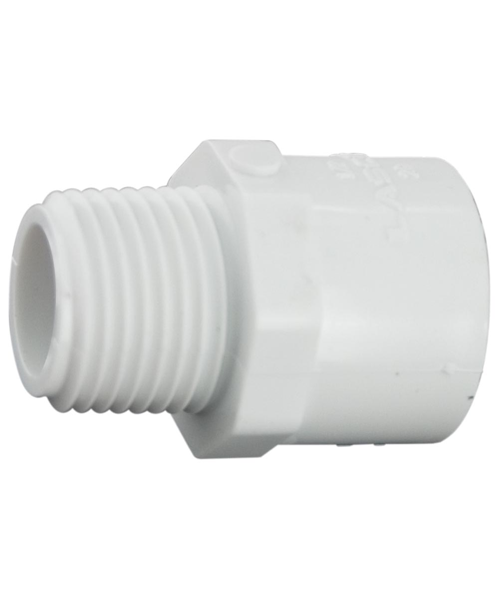 3/4 in. PVC Male Adapter, M x S
