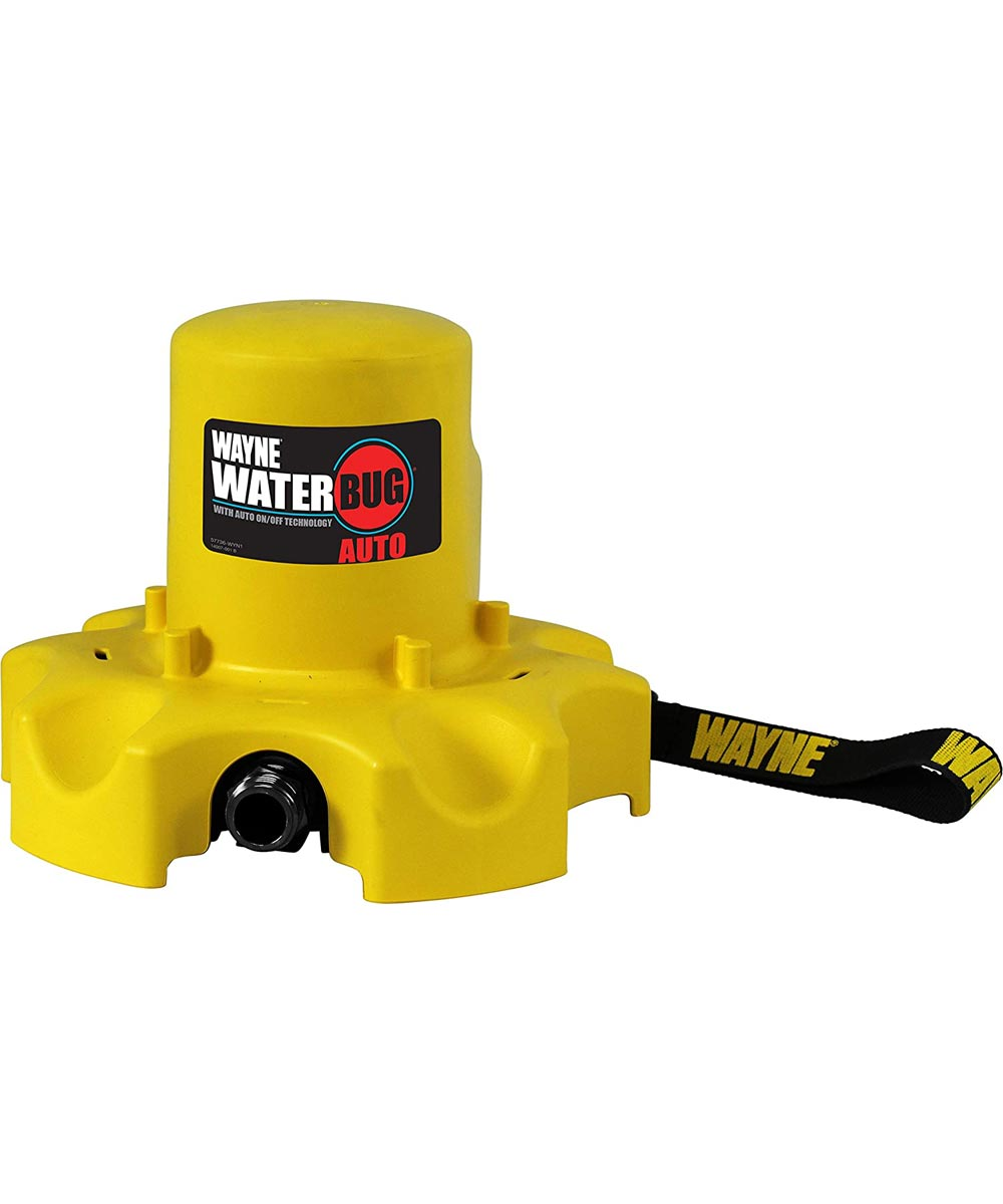 Wayne WaterBUG AUTO 1/4 HP Submersible Water Pump with Automatic On / Off Switch