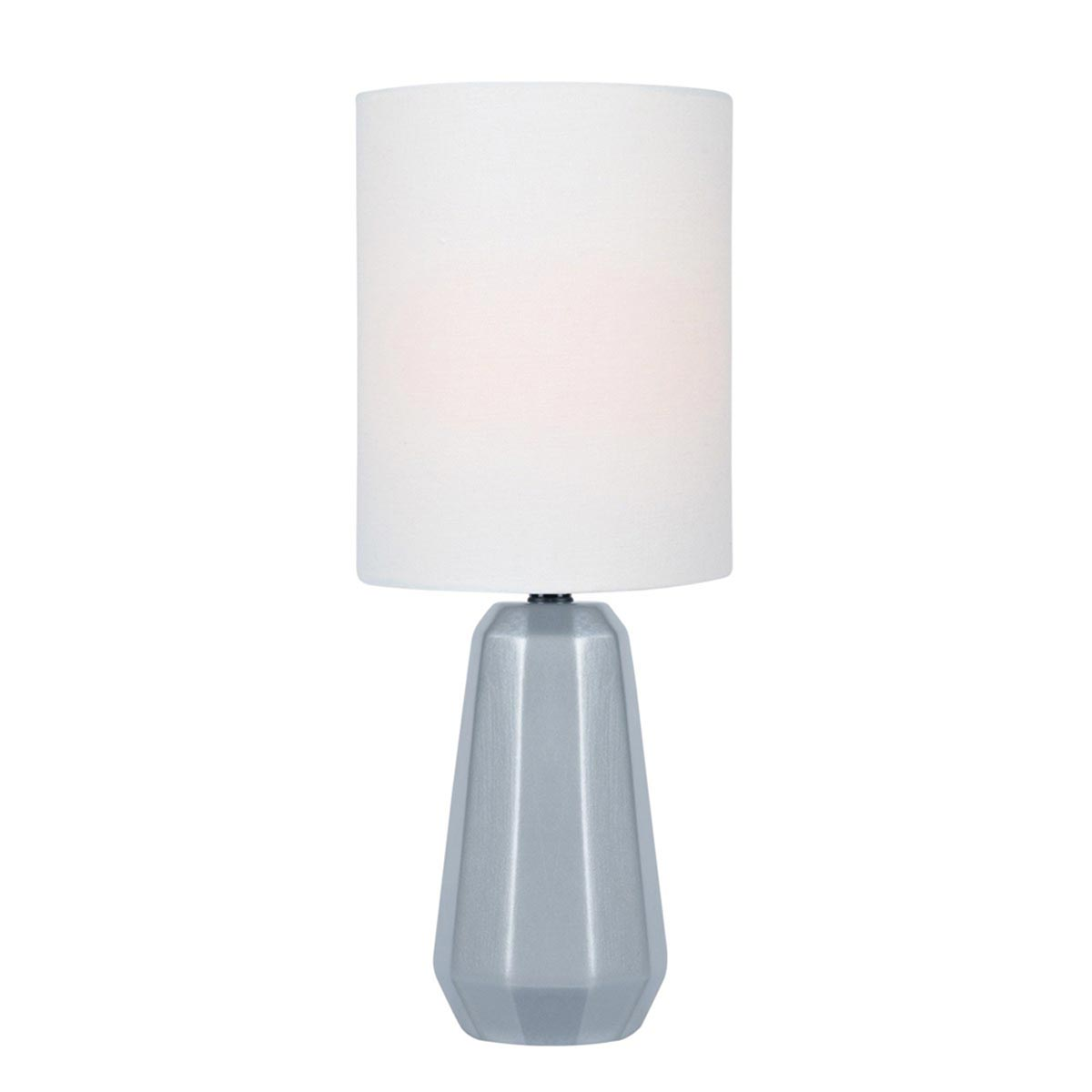 Charna Table Lamp, Silver
