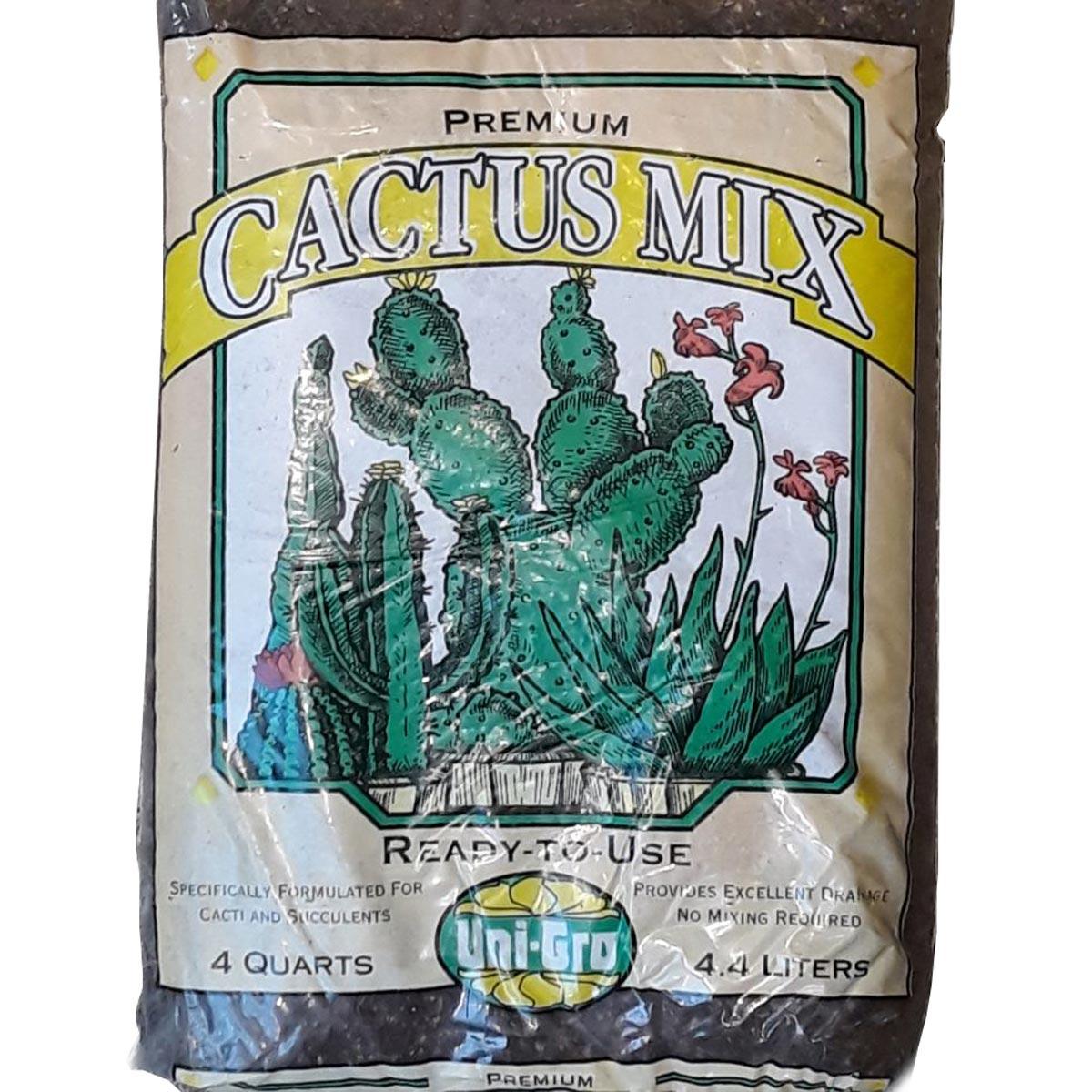 Uni-Gro Premium Cactus Mix, 4 Quarts