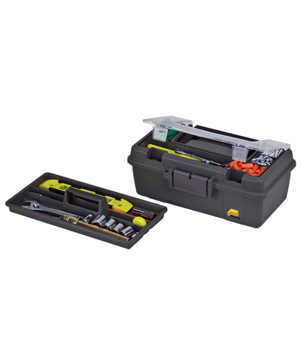 13 Inch Tool Box with Top Access and Removable Tray