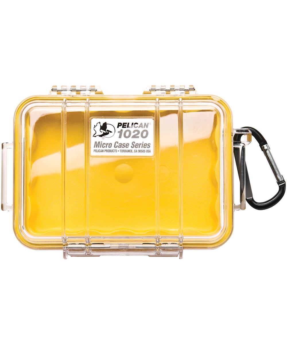 Pelican 1020 Watertight Micro Case, Yellow