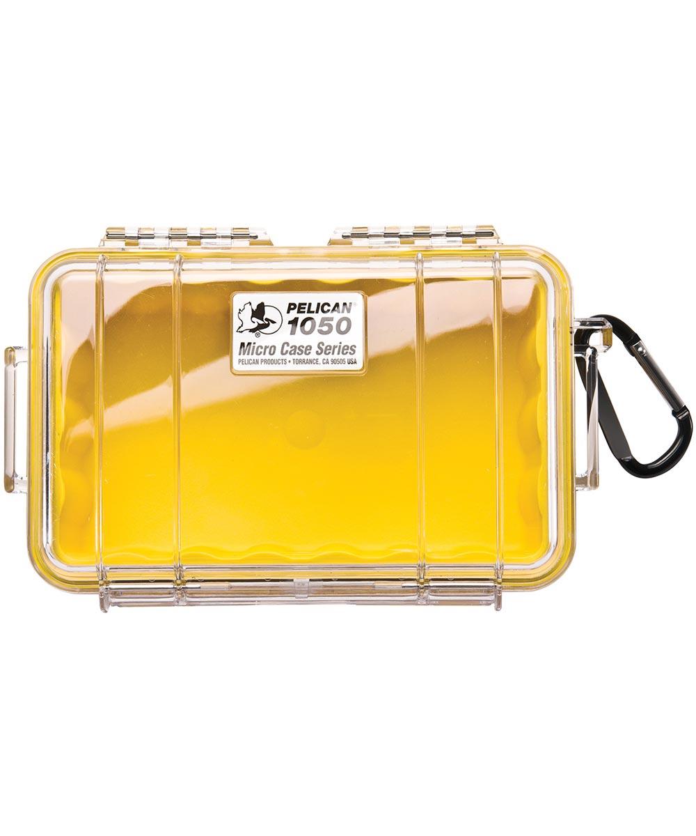 Pelican 1050 Watertight Micro Case, Yellow