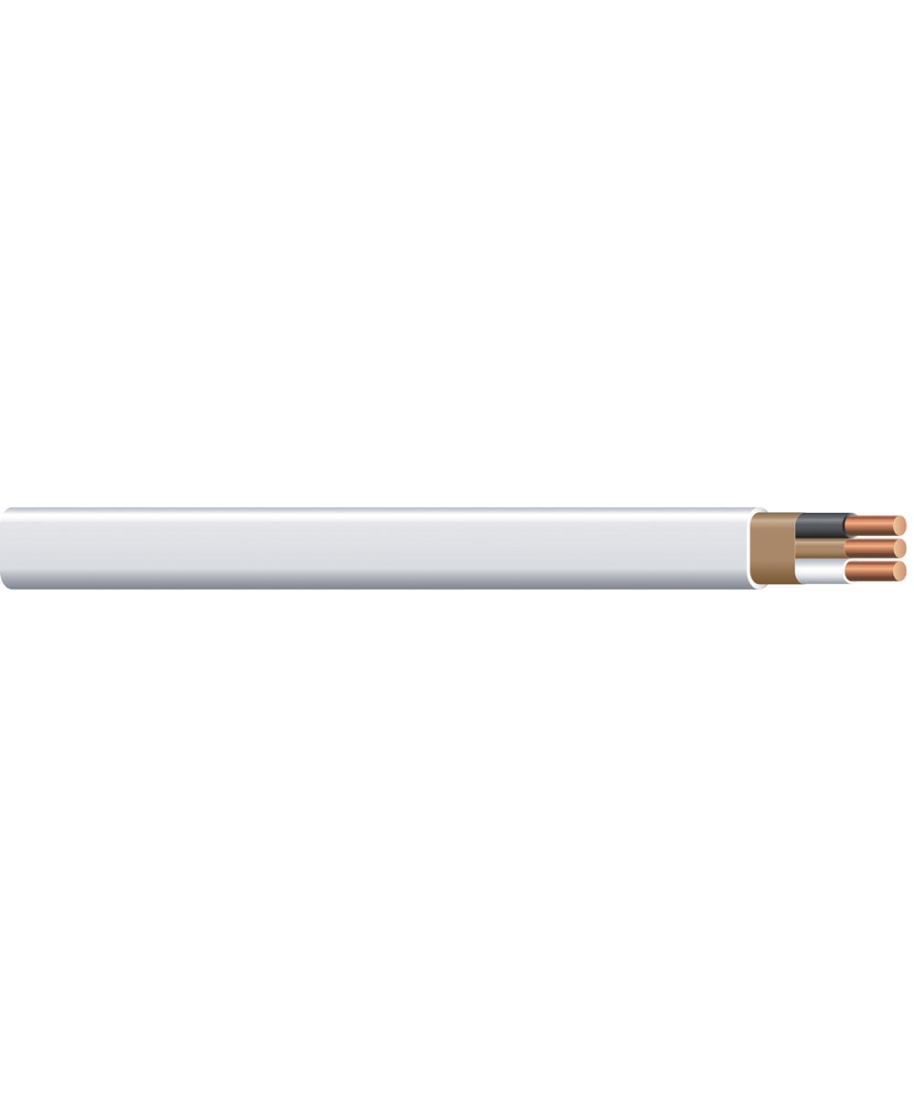 14 AWG  Romex SIMpull 2 Conductor 25 ft. NM-Sheathed Cable