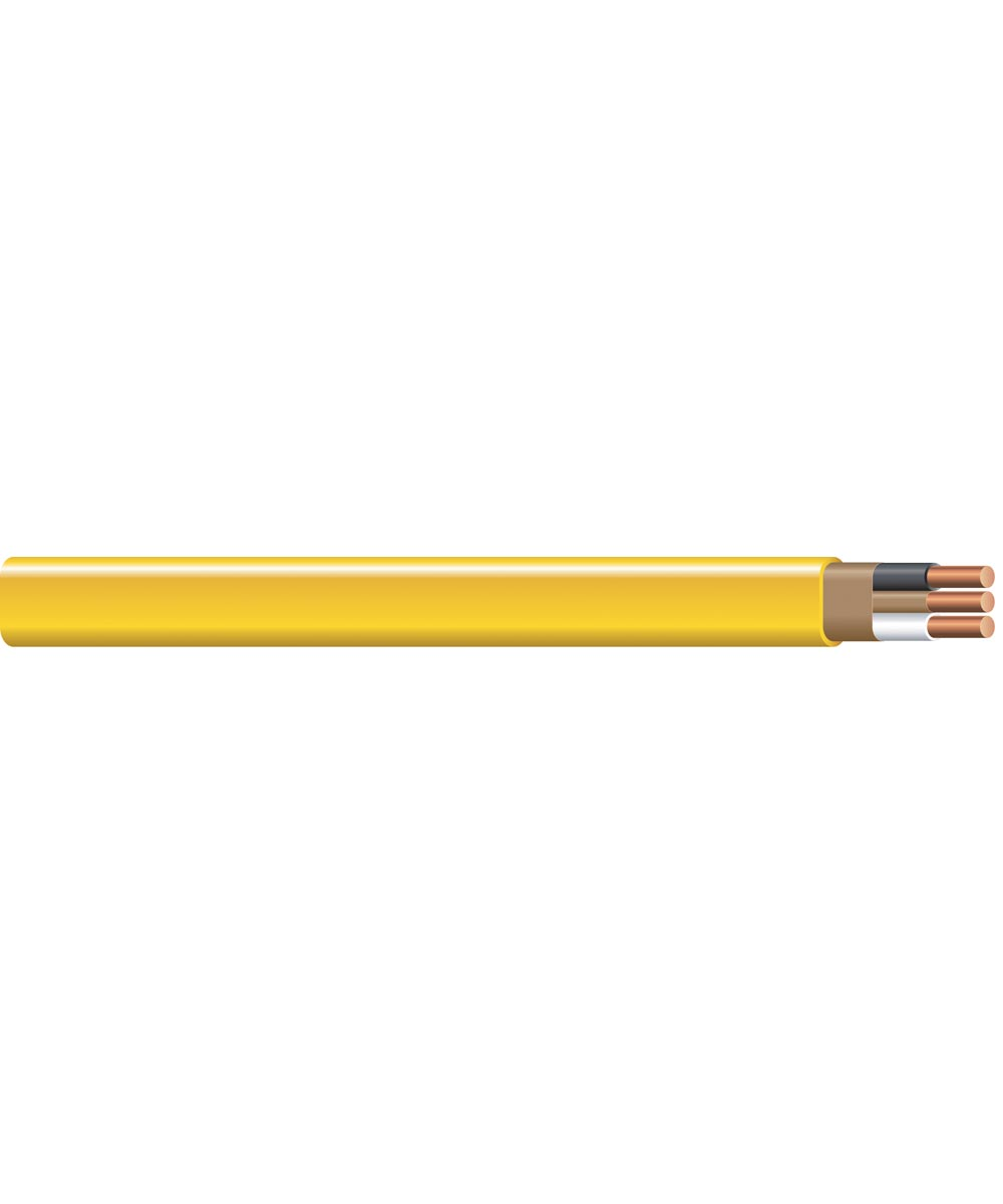 12-2 AWG Romex SIMpull 25 ft. Nonmetallic-Sheathed Cable