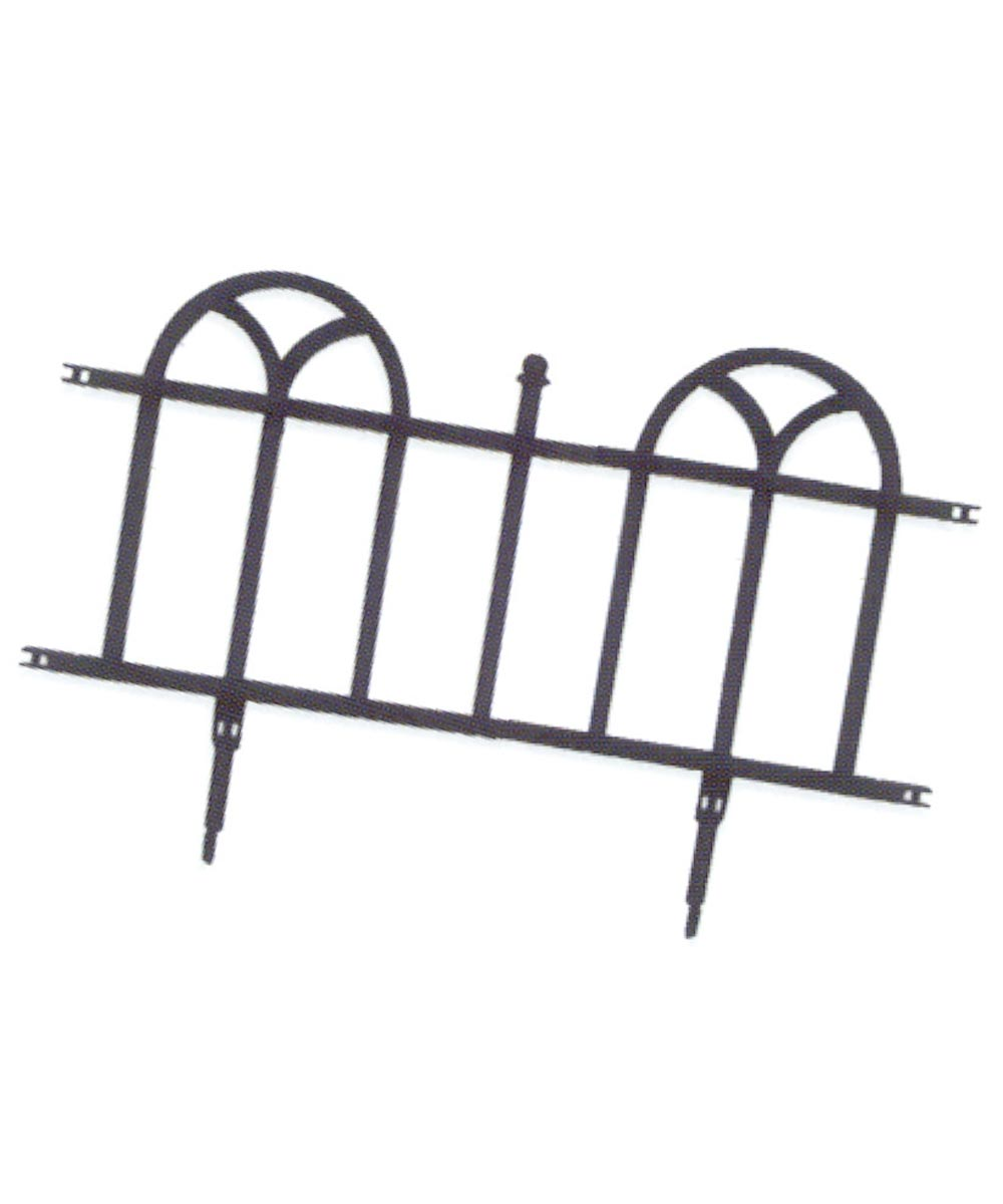 24 in. Forged Wrought UV Protective Plastic Border