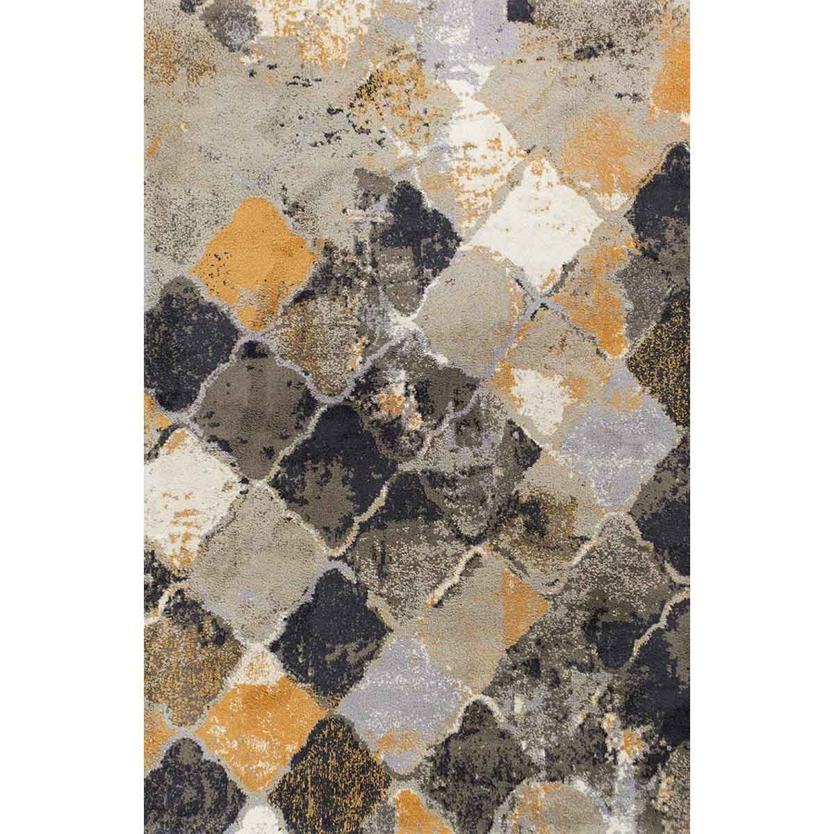 KAS 5 ft. x 7 ft. 6 in. Madison Multi Abstract Area Rug