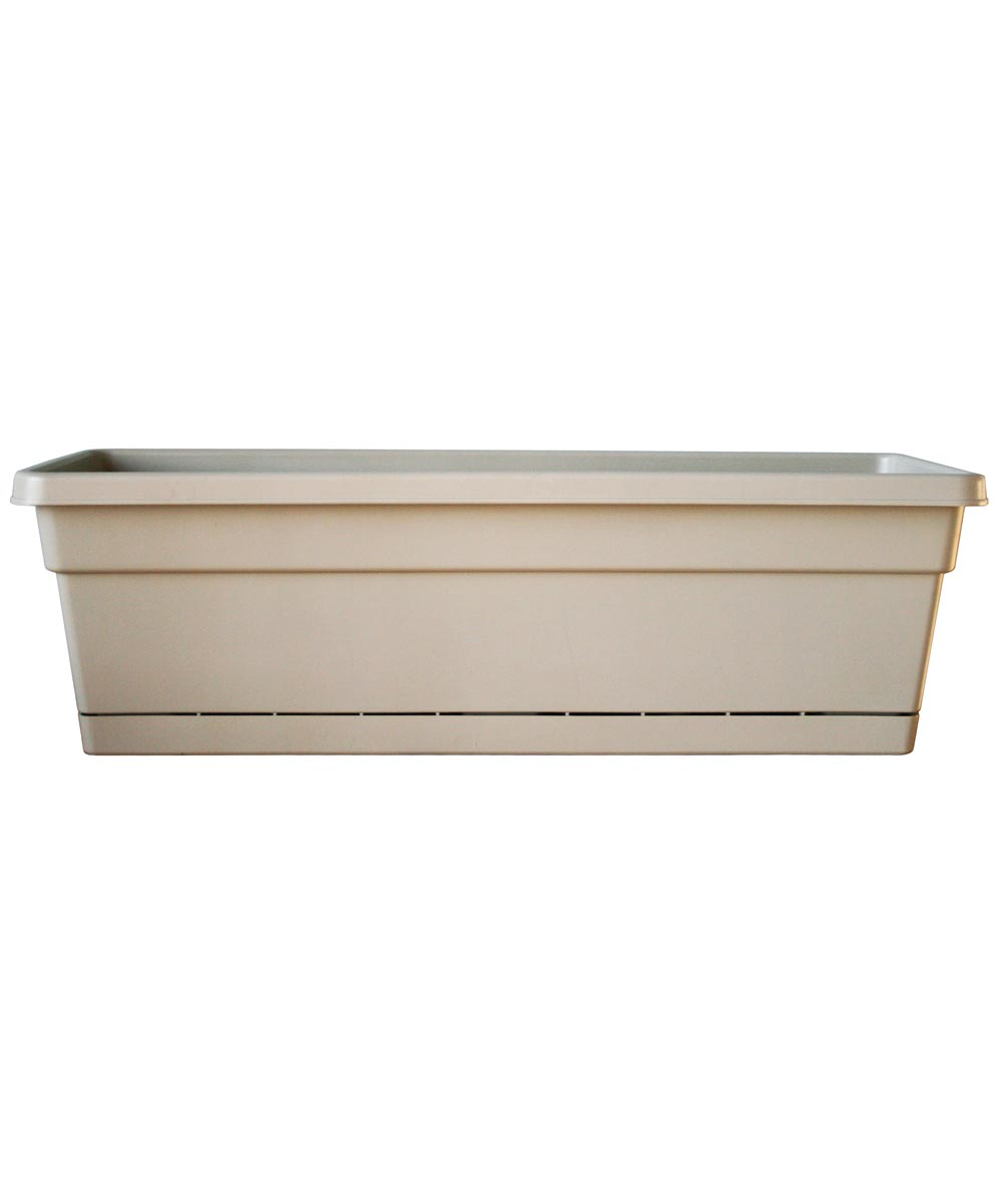 24 in. Tan Oxford Window Box