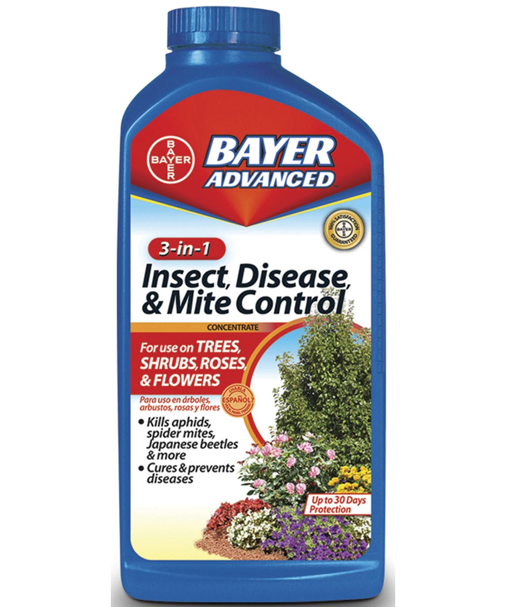 Bayer Advanced 3-in-1 Insect, Disease & Mite Control Concentrate, 32 oz