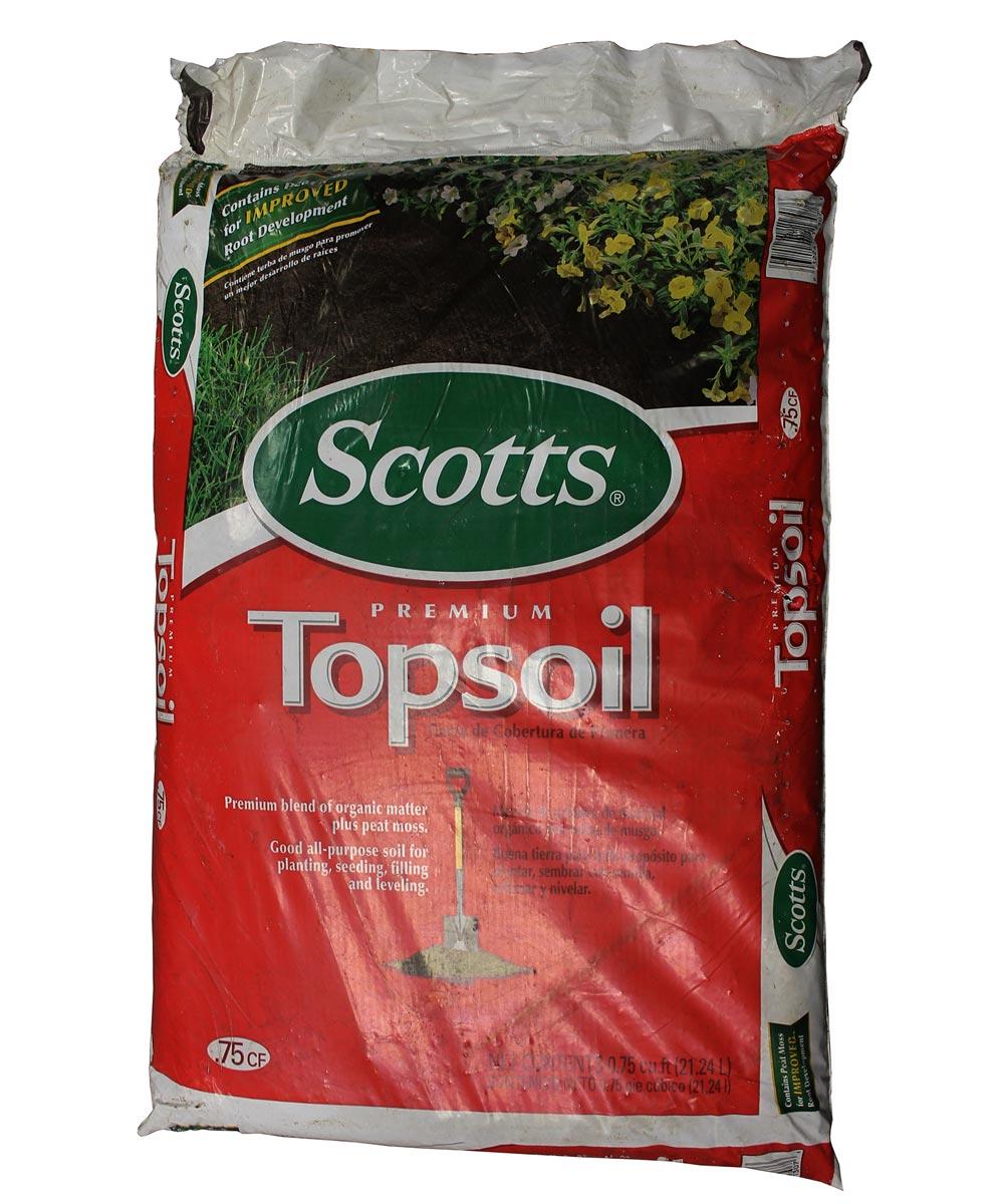 Scotts Premium Topsoil, 0.75 cu. ft.