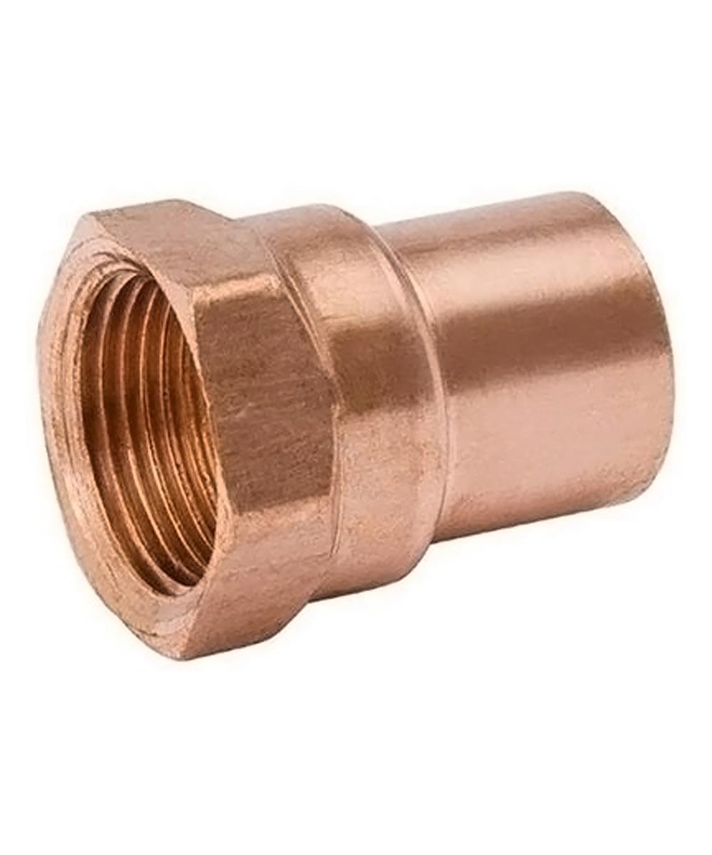 1/2 in. x 3/4 in. Copper Female Adapter, C x FIP