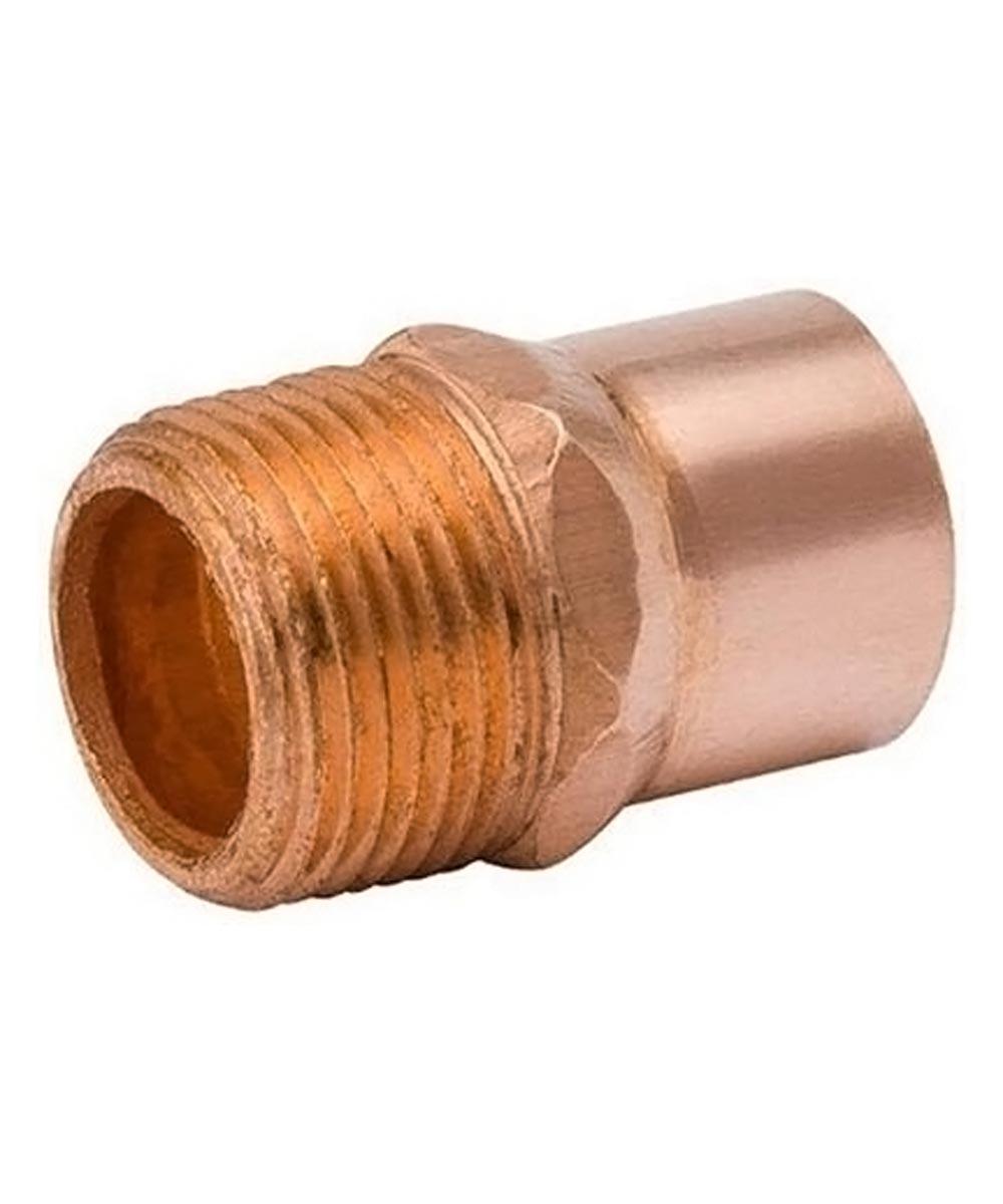 3/4 in. x 1/2 in. Copper Male Adapter, C x MIP