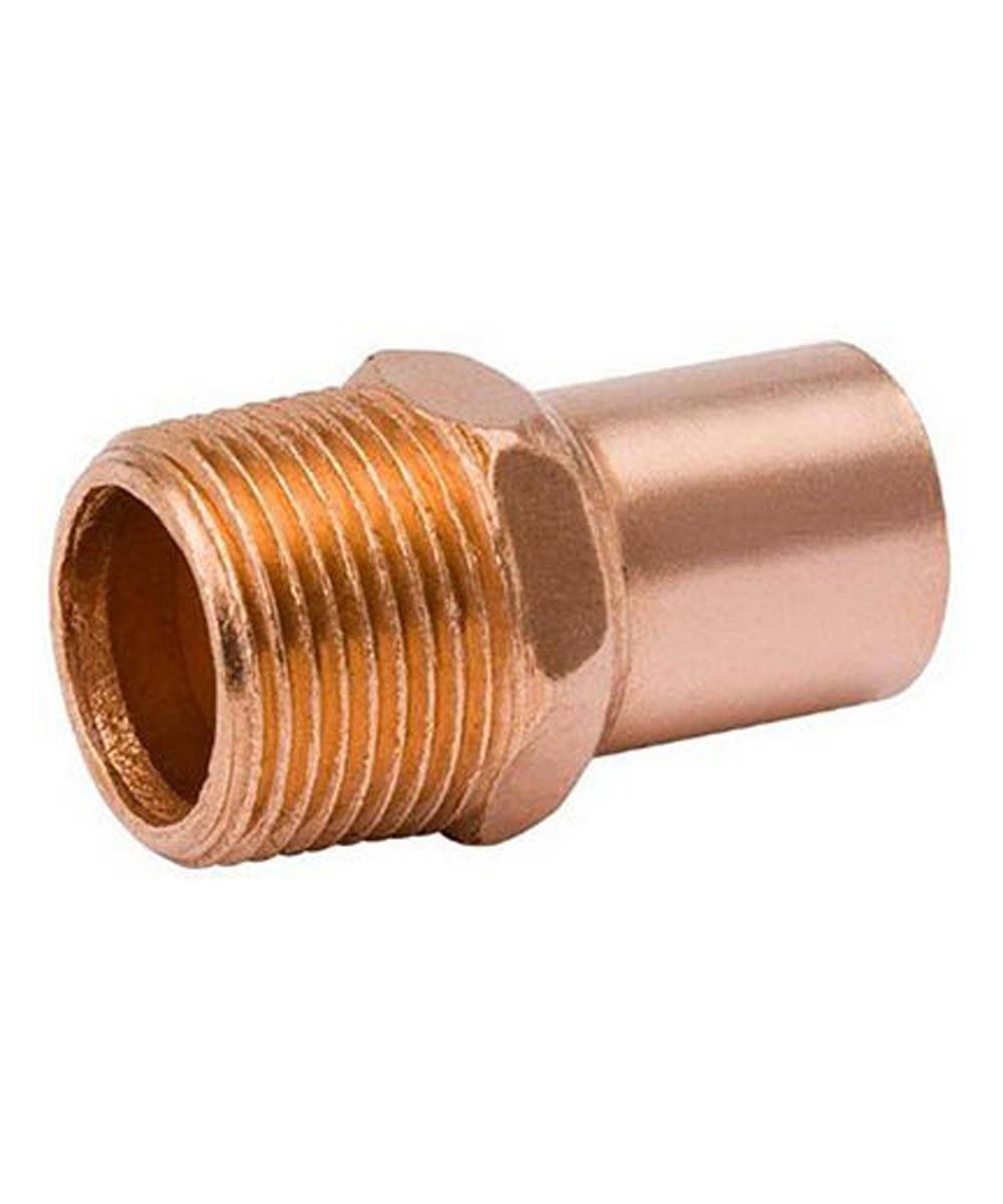 3/4 in. Copper Adapter, FTG x MIP