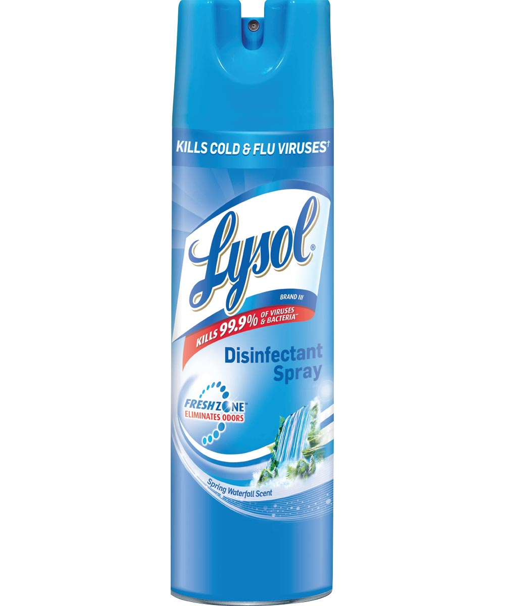 Lysol Disinfectant Spray, Spring Waterfall Scent, 19 oz.