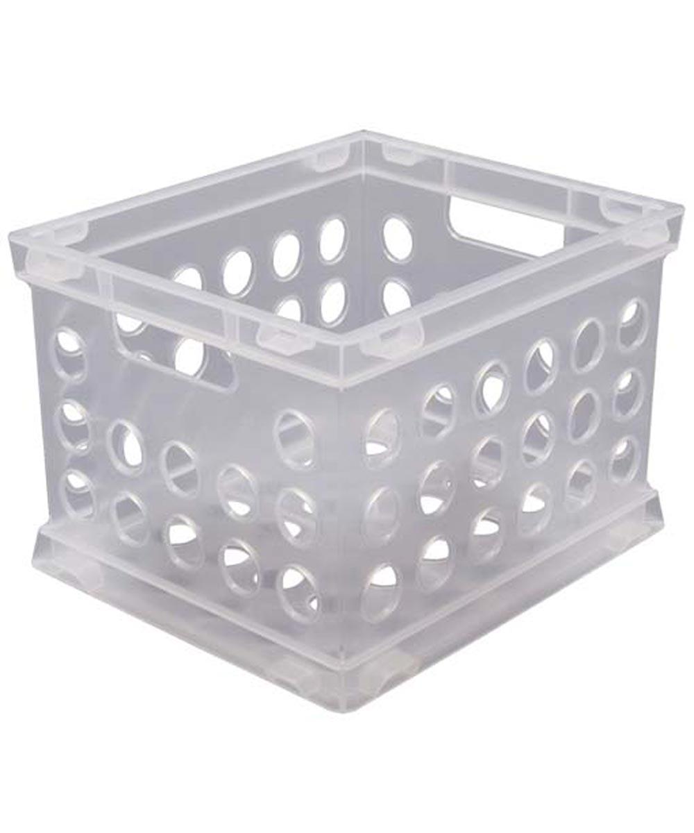 Sterilite Mini  Storage Crate, Clear