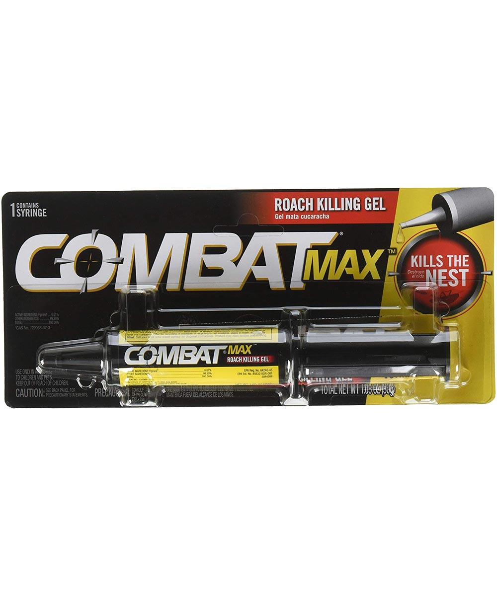 Combat Max Roach Killing Gel, 1.05 oz.