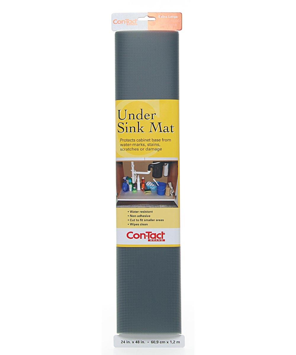 24x48 Inch Graphite Protective Under Sink Mat