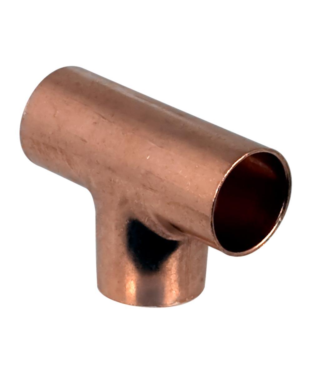 3/4 in. x 3/4 in. x 1/2 in. Copper Tee, C x C x C
