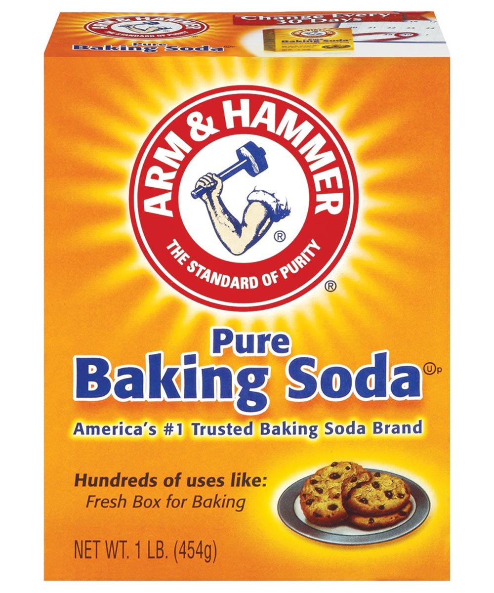 Arm & Hammer Pure Baking Soda, 16 oz., Box, White