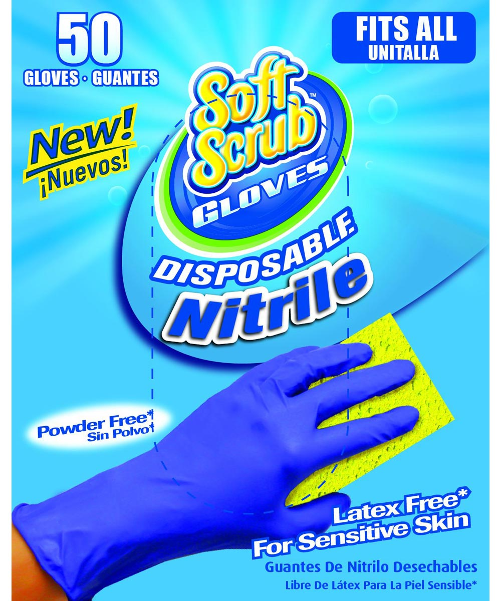Disposable Nitrile Gloves 50 Count