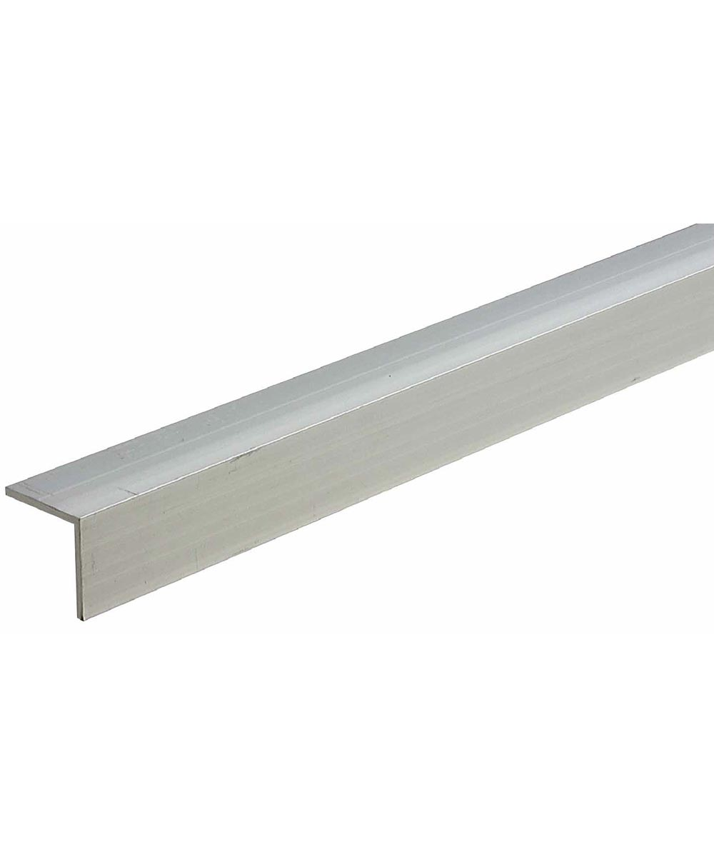 3/4 in. x 1/8 in. x 72 in. Mill Aluminum Equal Leg Angle Bar Stock