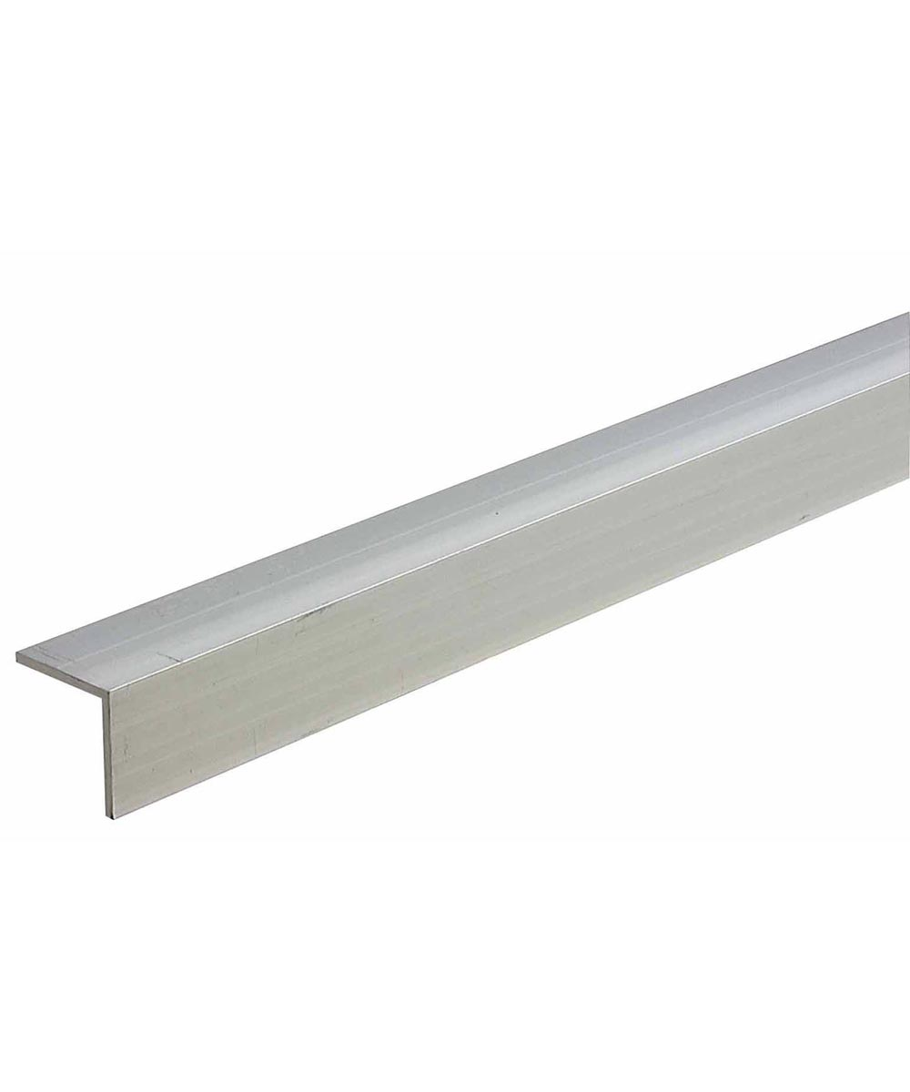 1 in. x 1 in. x 1/8 in. x 72 in. Mill Aluminum Equal Leg Angle Bar Stock