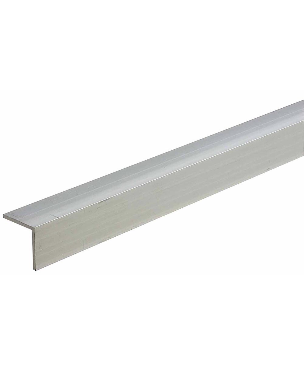 1 in. x 1 in. x 1/8 in. x 48 in. Mill Aluminum Equal Leg Angle Bar Stock