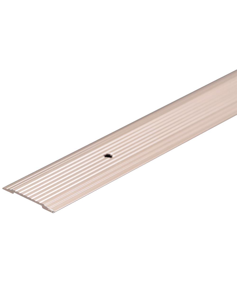 1-1/4 in. x 36 in. Pewter Aluminum Floor & Carpet Seam Binder