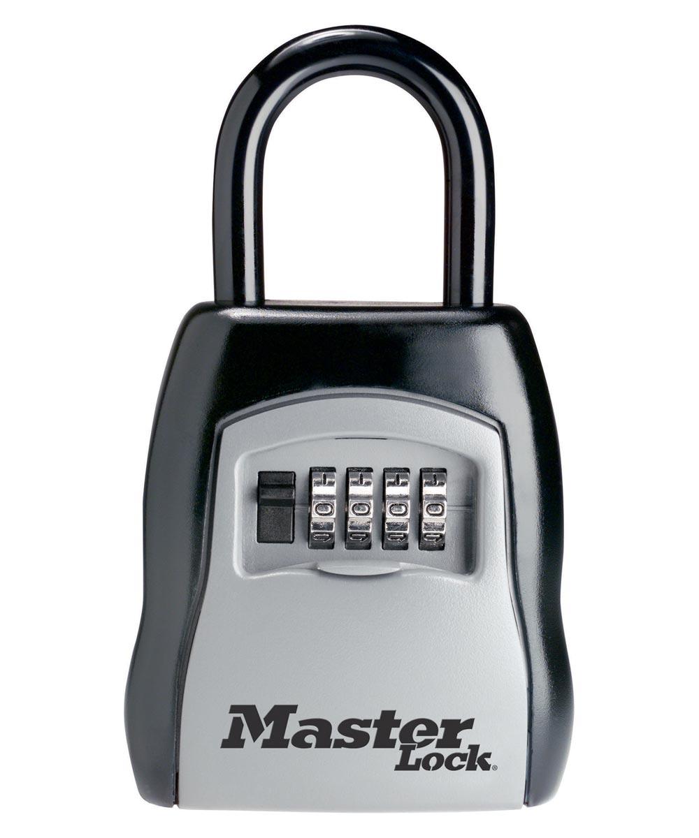 Master Lock Set Your Own Combination Portable Lock Box, 5 Key Capacity