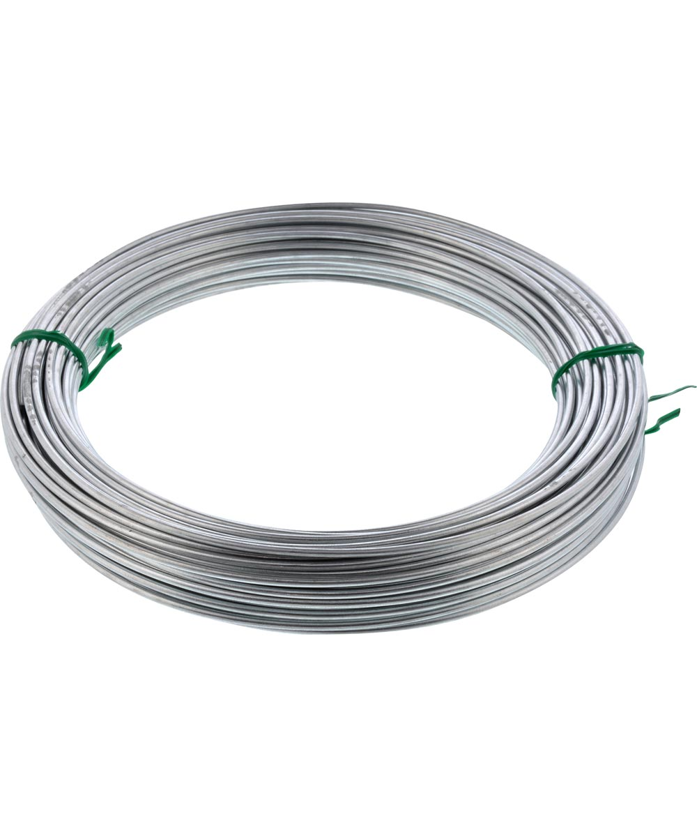 Galvanized Solid Wire #12 100 ft Coil