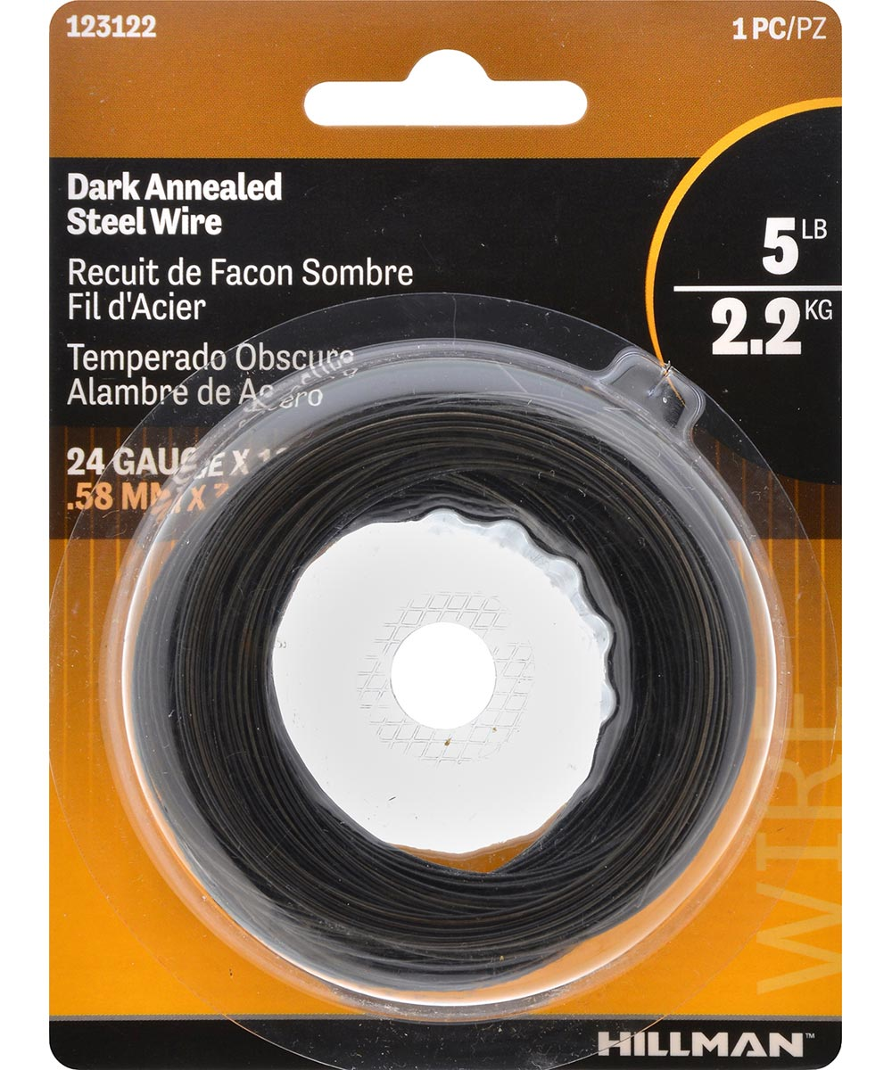Dark Annealed 24 Gauge 100 ft.