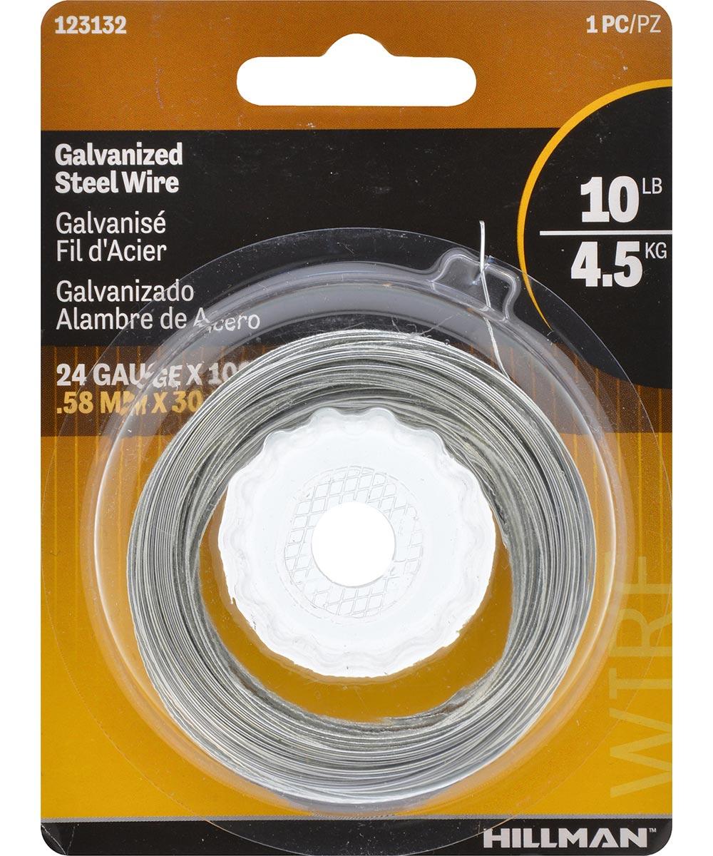Galvanized Hobby Wire 24 Gauge 100 ft.