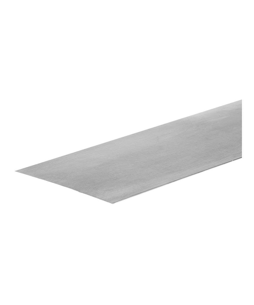 The Steel Works Zinc Solid Steel Sheet 12 in. X 24 in.