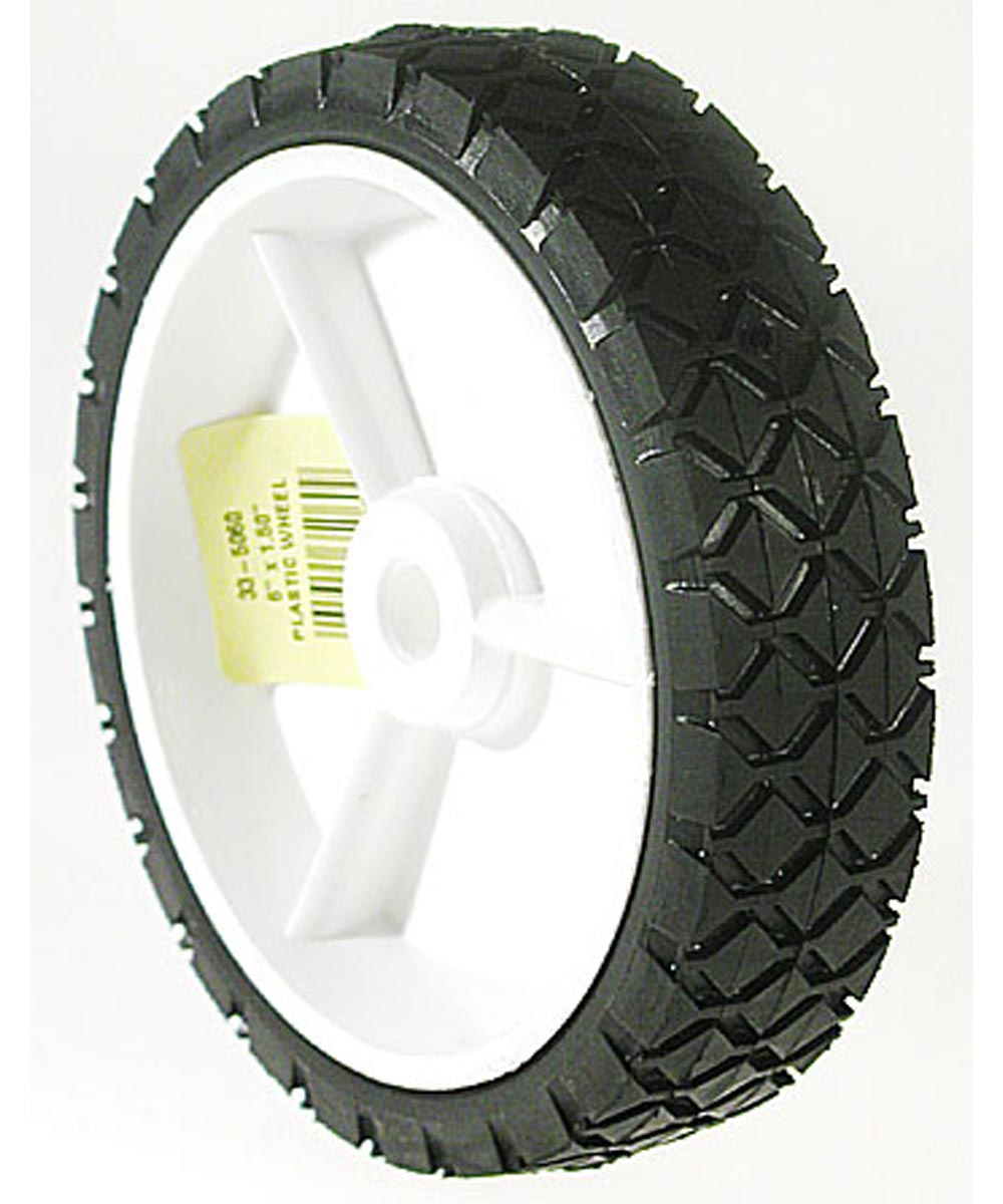 6 in. x 1.50 in. Plastic Lawn Mower  Wheel