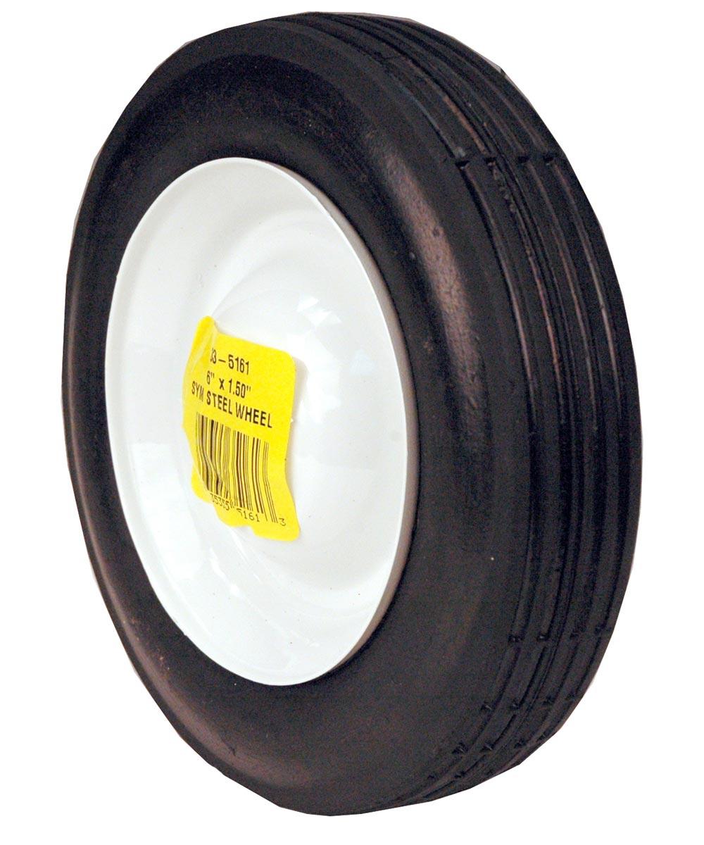 6 in. x 1.5 in. Steel Wheel