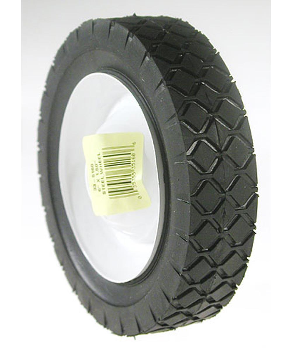 6 in. x 1.50 in. Steel  Lawn Mower Wheel