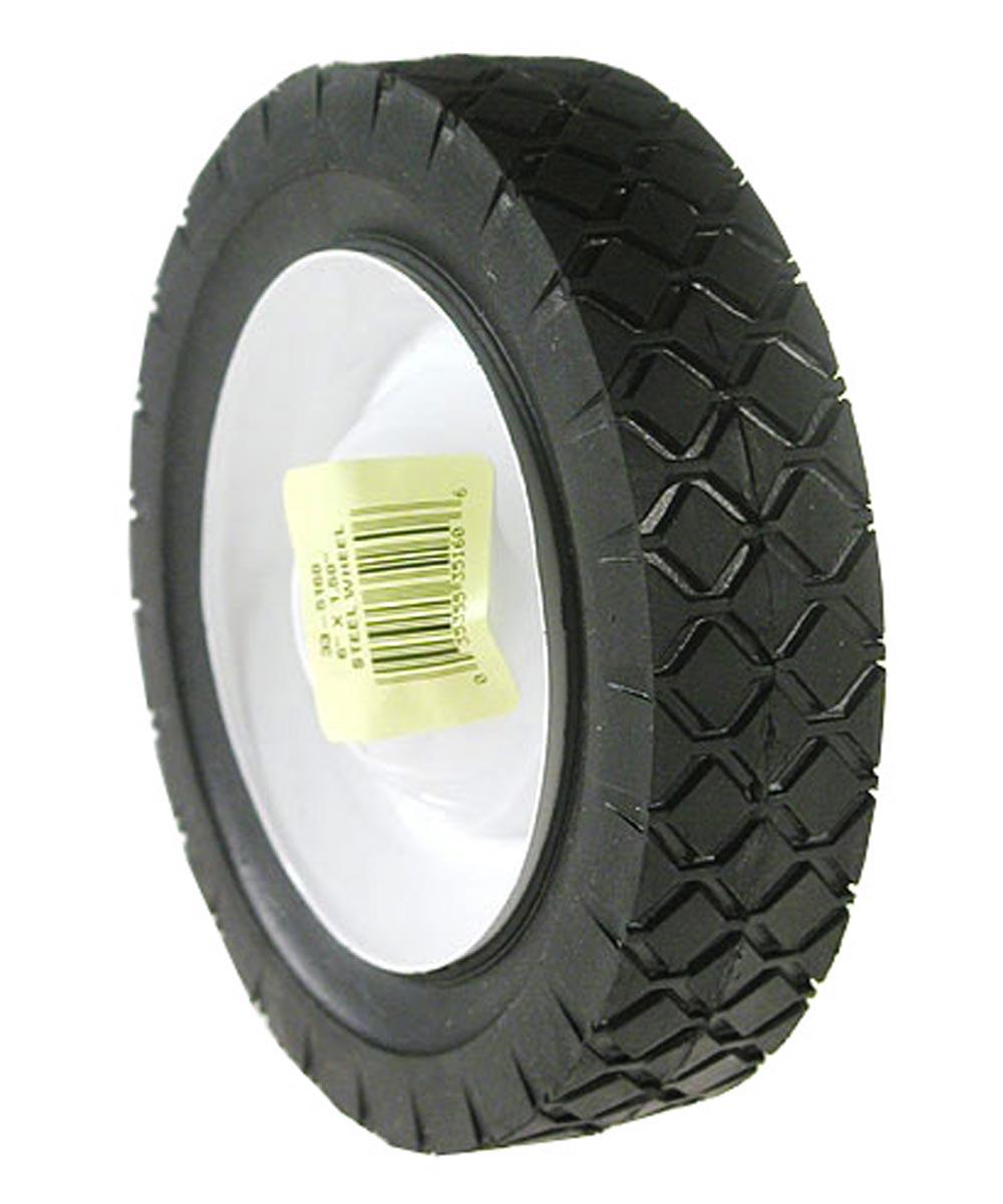 7 in. x 1.50 in. Steel Lawn Mower Wheel