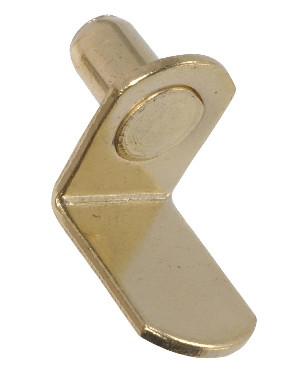 Yellow Zinc Shelf Pin (3/8 in. Length Fits 1/4 in. Hole)