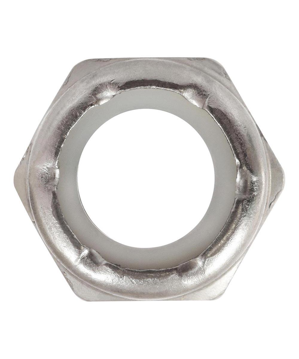 18-8 Stainless Steel Nylon Insert USS Coarse Stop Nut 1/2-13